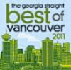 Best of Vancouver 2011 Georgia Straight